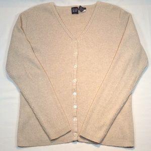 GAP V-Neck Button Up Sweater SAVE 50%